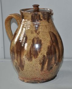 Early American Ceramics: A Rare Style of Decoration Rarely Found on 19th Century Red Earthenware Products Associated with New England Potters Today