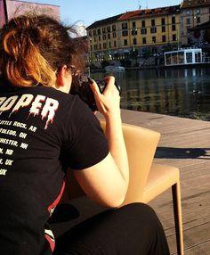 Inizia il viaggio con #Amelie di @calligaris_official in giro per #Milano. L'ho…