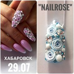 "210 Likes, 3 Comments - Валерия Зуева, Instructor Oza (@gallerynail.kms) on Instagram: ""Лепка гелем , стразы Swarovski  #oza_art_school #oza_art_instructor#gallerynailkms #gallerynail…"""