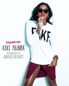 EXCLUSIVE! Keke Palmer Is Fashionably Ferosh In Fabulous Photo Shoot! See Pics HERE! http://perez.ly/17bp1K0