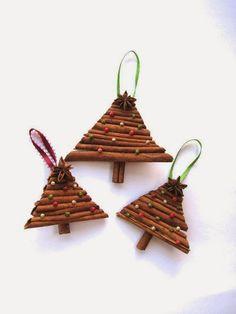 40 ιδέες για χριστουγεννιάτικες κατασκευές με κανέλες   Φτιάξτο μόνος σου - Κατασκευές DIY - Do it yourself