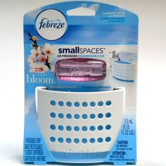 FEBREZE Small Spaces First Bloom Champagne Blossoms Scent Air Freshener  Home #Febreze #BigBoyTumbleweed