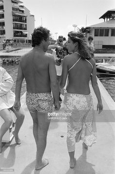 Caroline Of Monaco And Philippe Junot. December 4th 1978.