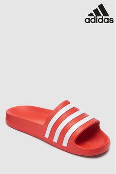 e02dbe525e0a Mens adidas Adilette Aqua - Grey. Mens adidas Adilette Aqua - Red