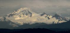 A stormy Mt. Baker Washington State [OC](4397x2115)