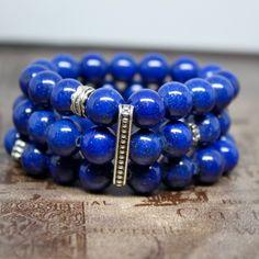 Statement Bracelet Blue  Jade bracelet, Women bracelet, Spiritual Jewelry,Protection Bracelet,  Gift for her. by AgouraDesign on Etsy