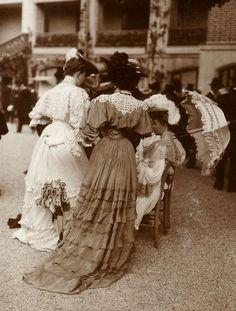 Longchamp, France. 1900 (Part1) - (Part 2)