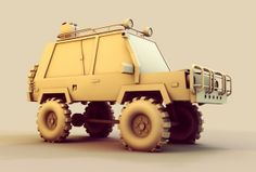 Low-Poly [Vehicles] on Behance