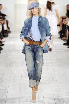 Ralph Lauren Spring 2010 Ready-to-Wear Fashion Show - Christina Carey