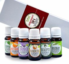 Aromatherapy Top 6  100 Pure Therapeutic Grade Basic Sampler Essential Oil Gift Set 610 ml Kit ** Find out more about the great product at the image link. (Note:Amazon affiliate link)