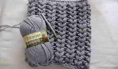 There are many variations of the puff stitch and they are all so distinctive and great looking. The texture this crochet stitch creates is beautiful and...