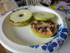 made it at home-yummy, filling snack!  think some coconut would go nicely on it too