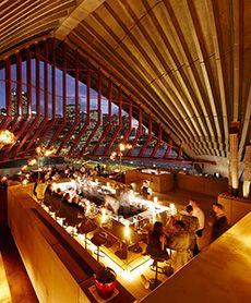 Bennelong Restaurant at the iconic Sydney Opera House. Image Credit: Brett Stevens