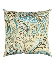 Look at this Tide Pool Indoor/Outdoor Pillow on #zulily today!