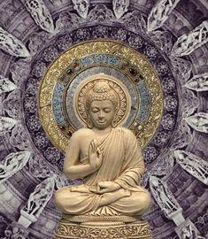 """Whoever doesn't flare up at someone who's angry wins a battle hard to win."" ~ The Buddha ♥ lis Buddha Buddhism, Buddha Art, Buda Zen, Namaste, Buddha Thoughts, Bodh Gaya, Spiritual Images, Buddha Painting, Zen Meditation"