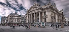Bourse de Bruxelles Panorama - Bourse /Brussels Stock Exchange/ was founded in Brussels, Belgium, by decree of Napoleon in 1801.  On 22 September 2000, the BSE merged with Paris Bourse, Lisbon Stock Exchange and the stock exchanges of Amsterdam, to form Euronext N.V., the first pan-European exchange for equities and derivatives, with common trading and clearing of all products, and was renamed Euronext Brussels. The most well known index on the Brussels Stock Exchange is the BEL20. It now…