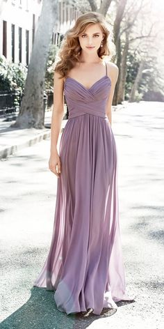Look 2018: 12 Charming Lavender Bridesmaid Dresses ❤ sheath spaghetti straps sweetheart modest lavender bridesmaid dresses hayley paige Full gallery: https://weddingdressesguide.com/lavender-bridesmaid-dresses/