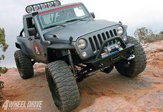 Jeep Raider ST + Big Tires on 4Wheel Drive magazine