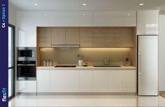 Small U Shaped Kitchens, Kitchen Backsplash, Kitchen Cabinets, Interior Design Kitchen, Kitchen Lighting, Kitchen Remodel, House Plans, Furniture, Home Decor