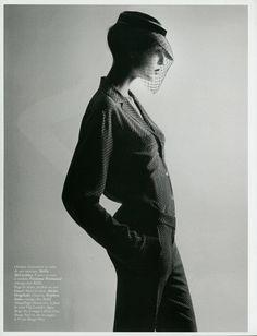 Model: Nadja Bender    Photographer: David Sims    Styling: Joe McKenna        #fashion #photography