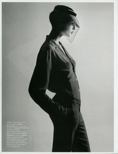 Model: Nadja Bender    Photographer: David Sims    Styling: Joe McKenna        #fashion #photography