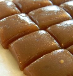 Microwave Caramels - Make your own caramel right in the microwave. Great for a lovely gift. Or save some to add to your favorite treats.