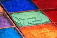 Polveri colorate