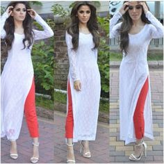Designer Indian Salwar kameez Bollywood Anarkali Dress Pakistani Shalwar Suit US Ethnic Fashion, Look Fashion, Indian Fashion, Fashion Fashion, Fashion Women, Fashion Beauty, Fashion Trends, Indian Attire, Indian Wear