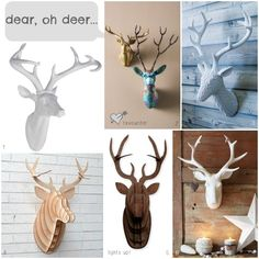 The Enduring Trend for Stags Heads