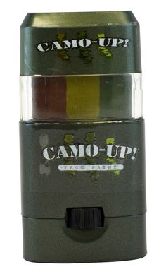 Camo Face Paint Commander War Paint Combo Pack Hunting 3 Color ...