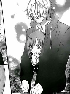 Yuki Machida and Shou Naruse from Namaikizakari Anime Boys, Manga Anime, Couple Manga, Anime Love Couple, Anime Couples Drawings, Anime Couples Manga, Anime Couples Cuddling, Manga Drawing, Manga Art