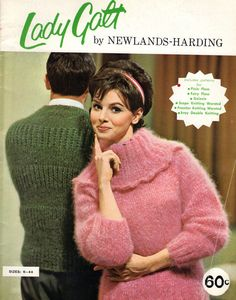 VINTAGE 1960s LADY GALT BY NEWLANDS-HARDING KNITTING BOOK #LadyGalt