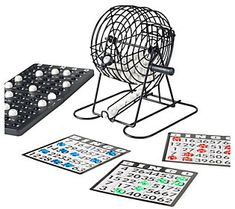 Perfect for family game night, this classic bingo set provides fun for all ages. From Hey! Play! Christmas Bingo Game, Christmas Games For Kids, Math Games For Kids, Board Games For Kids, Kids Party Games, Games For Teens, Bingo Set, Bingo Games, Family Game Night