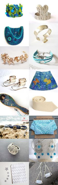 Ocean Blue by Chizuko Takahashi on Etsy--Pinned+with+TreasuryPin.com