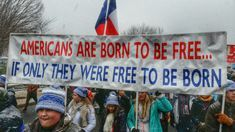 """""""The 15 Most Epic Signs"""" Americans are born to be free... if only they were free to be born. End abortion. #ProLife"""