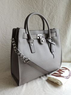d76c2b495e3e Michael Kors Saffiano Leather Large Grey Totes Is Favored By Huge Number Of  Customers Around The World!