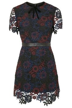 Tonal Lace Shift Dress - Dresses - Clothing - Topshop