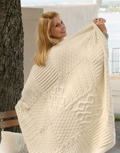 Knitting Bee has compiled the top 10 stitch sampler/ mystery knit-a-long afghans/throws and blankets from the top designers from around the world. In these patterns you will find a rich resource of free stitches from colorwork to lace to cables and textured knit and purl patterns. Knit beautiful stitches in squares, sure to keep you busy for a very long time, so much to discover! Norah's Vintage Afghan by Berroco Norah's Vintage Afghan is made up of 20 blocks worked in 5 beautiful colors…