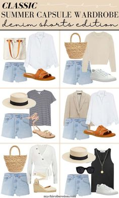 Capsule Outfits, Fashion Capsule, Mode Outfits, Capsule Wardrobe, Honeymoon Outfits, Simple Summer Outfits, Sophisticated Outfits, Inspiration Mode, Outfit Combinations