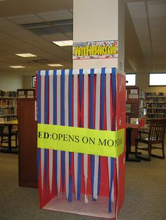 """Vote for Books! Maybe have """"Patron's Choice"""" Awards?    Voting Booth by Grayslake Library, via Flickr"""