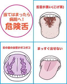 """全身の不調は舌に出る! 即病院へ行くべき""""危険舌""""はコレだ / 週刊女性PRIME #健康 #舌 #チェック #Health"""