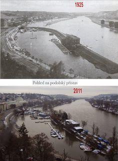 Přehled srovnávacích fotek: PODOLÍ 1 (Praha)