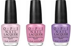 Three of the new OPI Pirates of the Caribbean nail polishes. I'm considering working for OPI just so I can get free nail polishes. Opi Nail Polish Colors, New Nail Colors, Pastel Nail Polish, New Nail Polish, Opi Nails, Nail Polishes, Opi Colors, Gradient Nails, Cute Nails