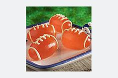 You're not ready for game day until these JELL-O Football JIGGLERS are ready, set and made. Show them their way to the snack table.