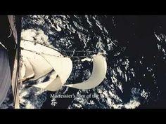 Renowned French yachtsman Bernard Moitessier in Deep Water