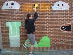 . Art of Apex High School: art one. Interactive murals.