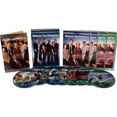 Sports Night DVD's - $47.49 // Early Aaron Sorkin = great writing, fast pace and sports with heart.
