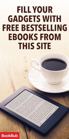 BookBub: Free Ebooks - Great deals on bestsellers you'll love... Idk if its true but woohoo