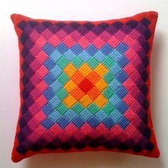 dennismarquez's Entrelac Pillow