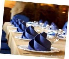 Wedding Napkins....love that color...
